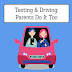 Texting and Driving: Parents do it Too! #infographic