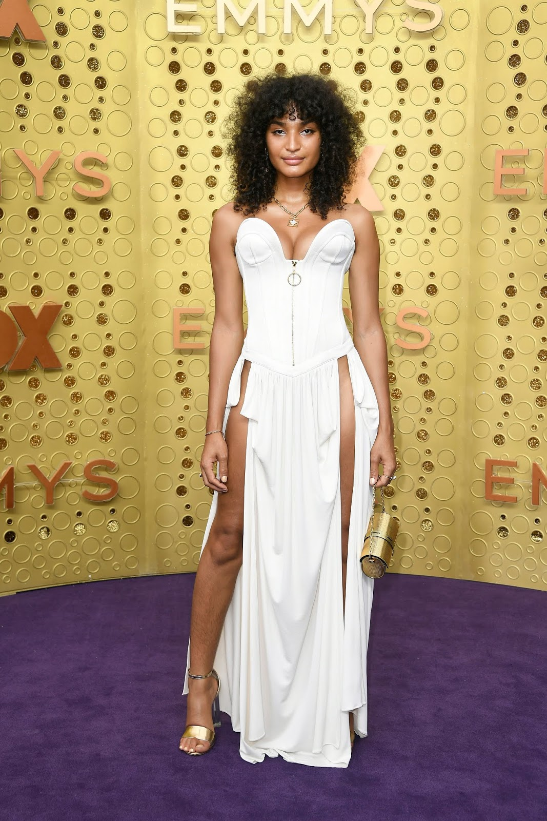 Pose Star Indya Moore Serves Skin At 2019 Emmys