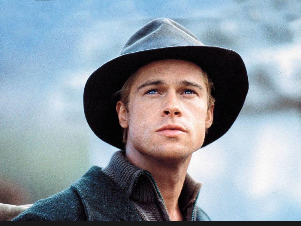 Brad Pitt in Hats