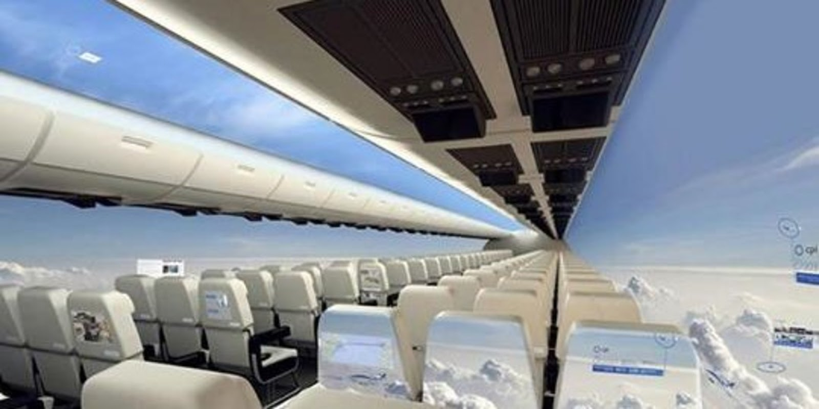 These Futuristic Windowless Planes Will Become The Dream For Those Who Love Flying