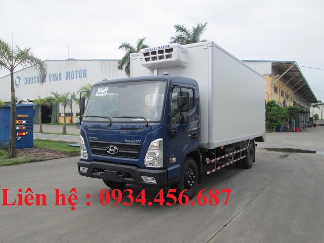 Xe tải Hyundai EX8 đời 2021 thùng đông lạnh