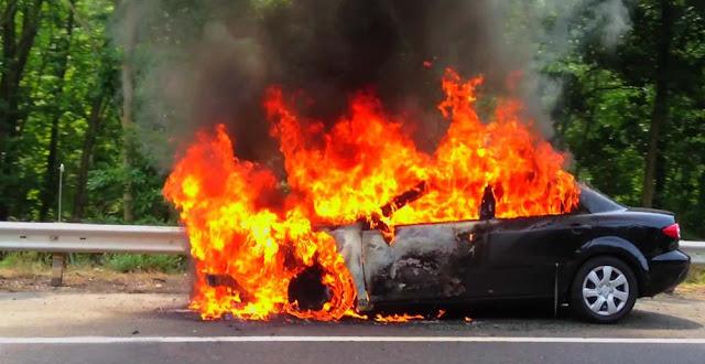 Φωτιά σε αυτοκίνητο στην Αργολίδα