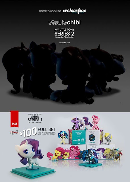 We Love Fine Series 2 Teaser Image Chibi My Little Pony Figures