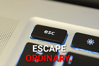 Fb caption- Escape the ordinary.