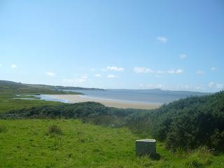 výhľad z Bridgendu na druhú stranu ostrova