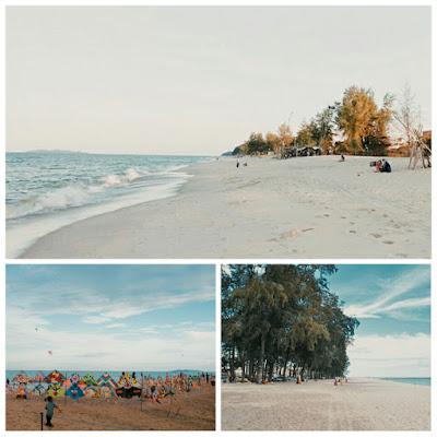 Pantai Batu Burok merupakan pantai tercatik di Terengganu