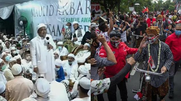 Habib Rizieq Siap Diperiksa Kalau Kerumunan Pendukung Gibran Juga Ditindak