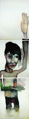 Hysterical Parapalegic, pintura de Marilyn Manson.