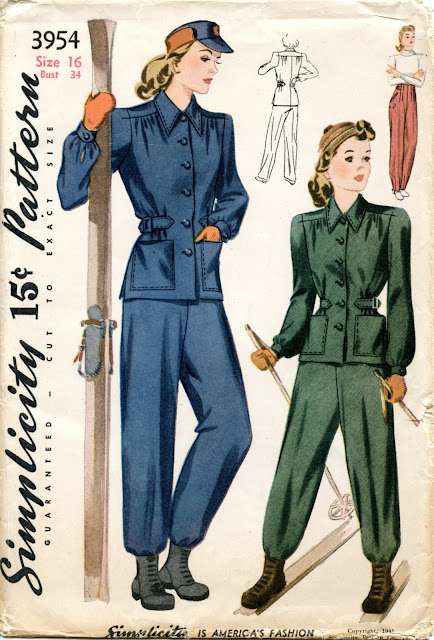 Unsung Sewing Patterns: Simplicity 3954 - Girls' and Misses