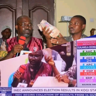 Kogi Elections: INEC Official Rejects Bribe Given To Him By Politicians