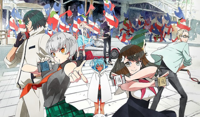 Gatchaman Crowds Insight Sub Indo