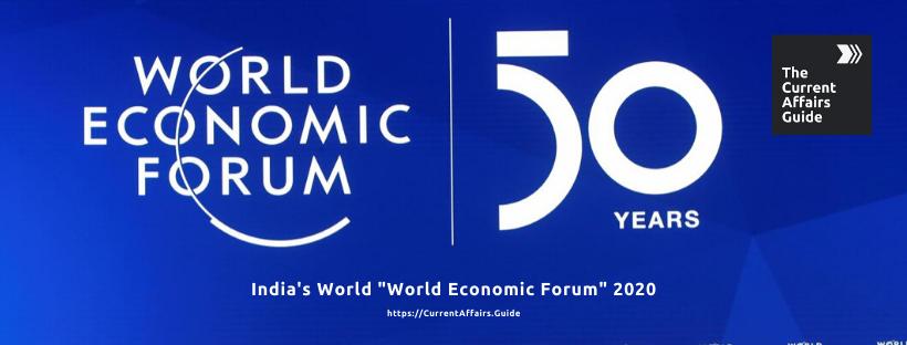 Indias World World Economic Forum 2020