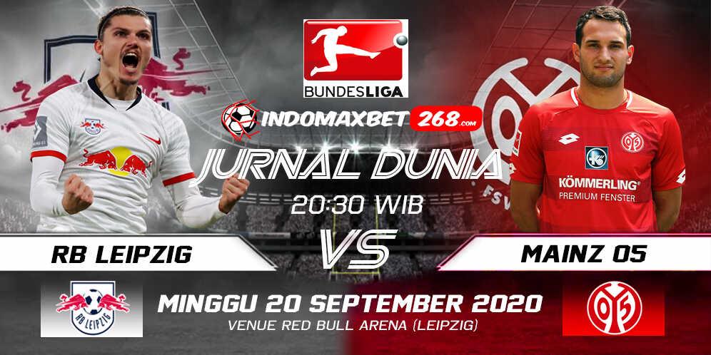 Prediksi RB Leipzig Vs FSV Mainz 05 20 September 2020 Pukul 20.30 WIB