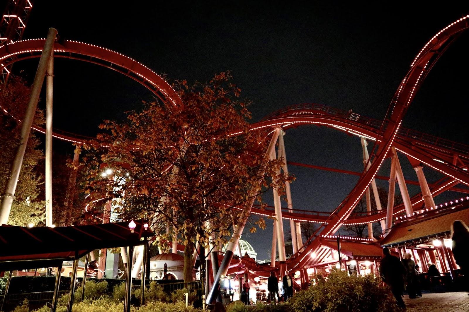 rollercoasters in Copenhagen