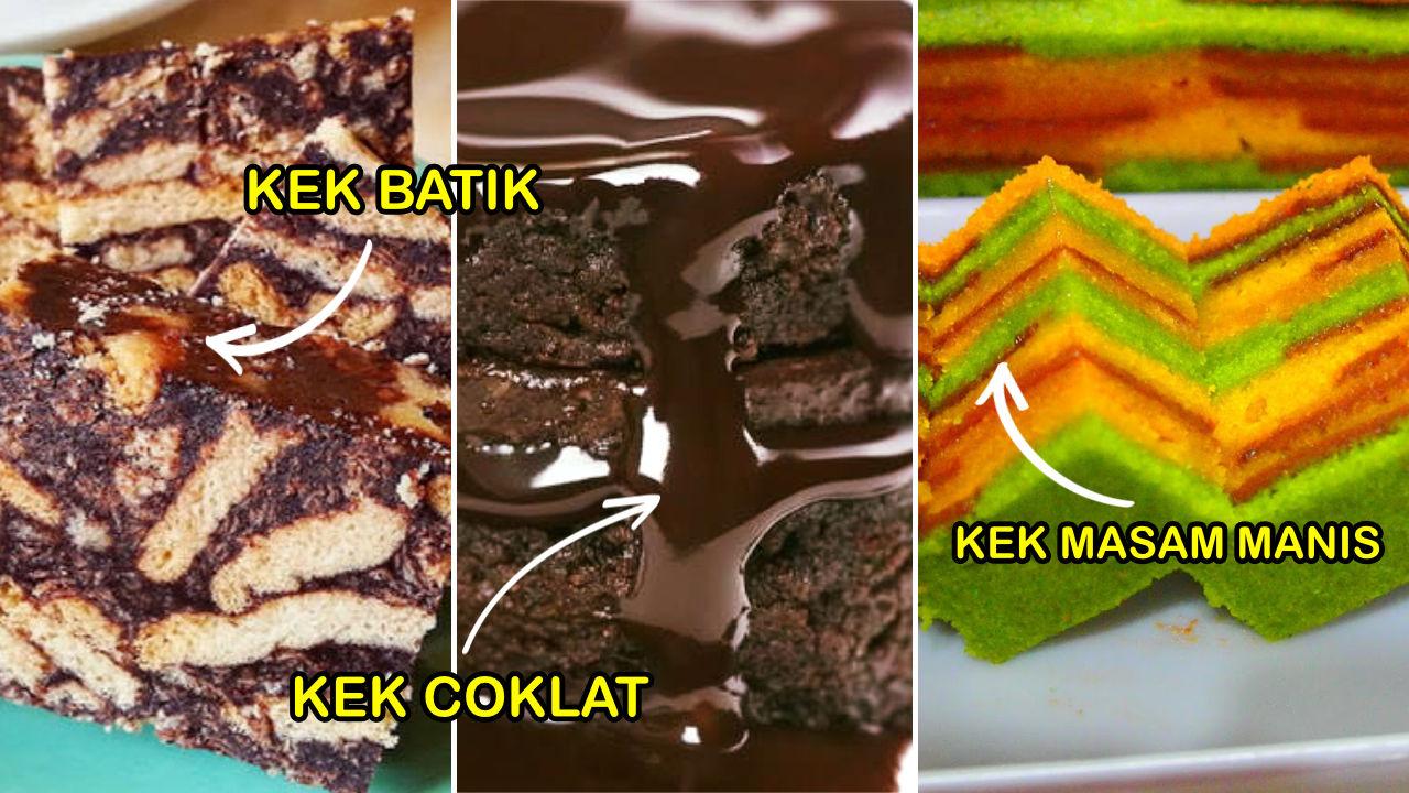 resepi kek popular