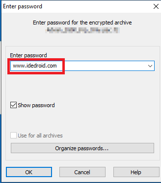 Password Extrak File