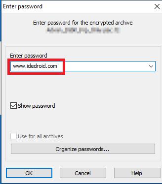 Password Extrak File