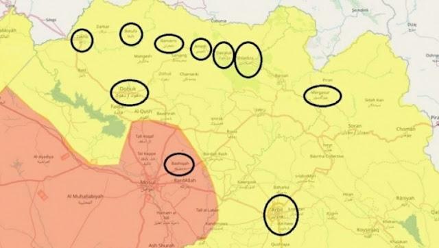 لماذا أسست تركيا 20 قاعدة عسكرية ومركز لجمع المعلومات داخل إقليم كردستان