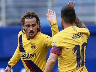 Griezmann speaks on Messi transfer: We just hope he stays