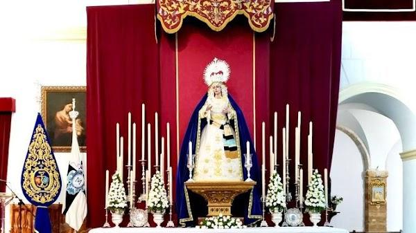 La cofradía del Despojado de Cádiz ya proyecta incorporar el paso de palio a la Semana Santa