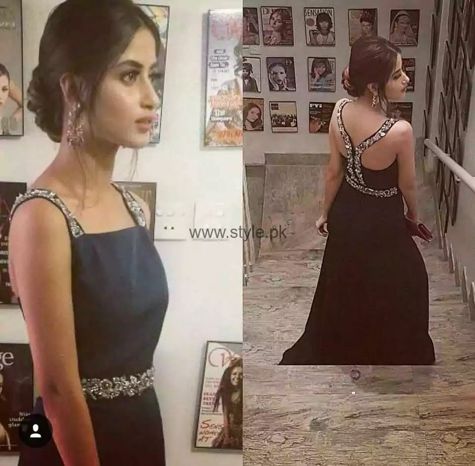 Sajal Ali Shows Off Her Stylish Side In Her Latest Instagram Picture