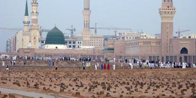 kuburan dekat masjid nabawi