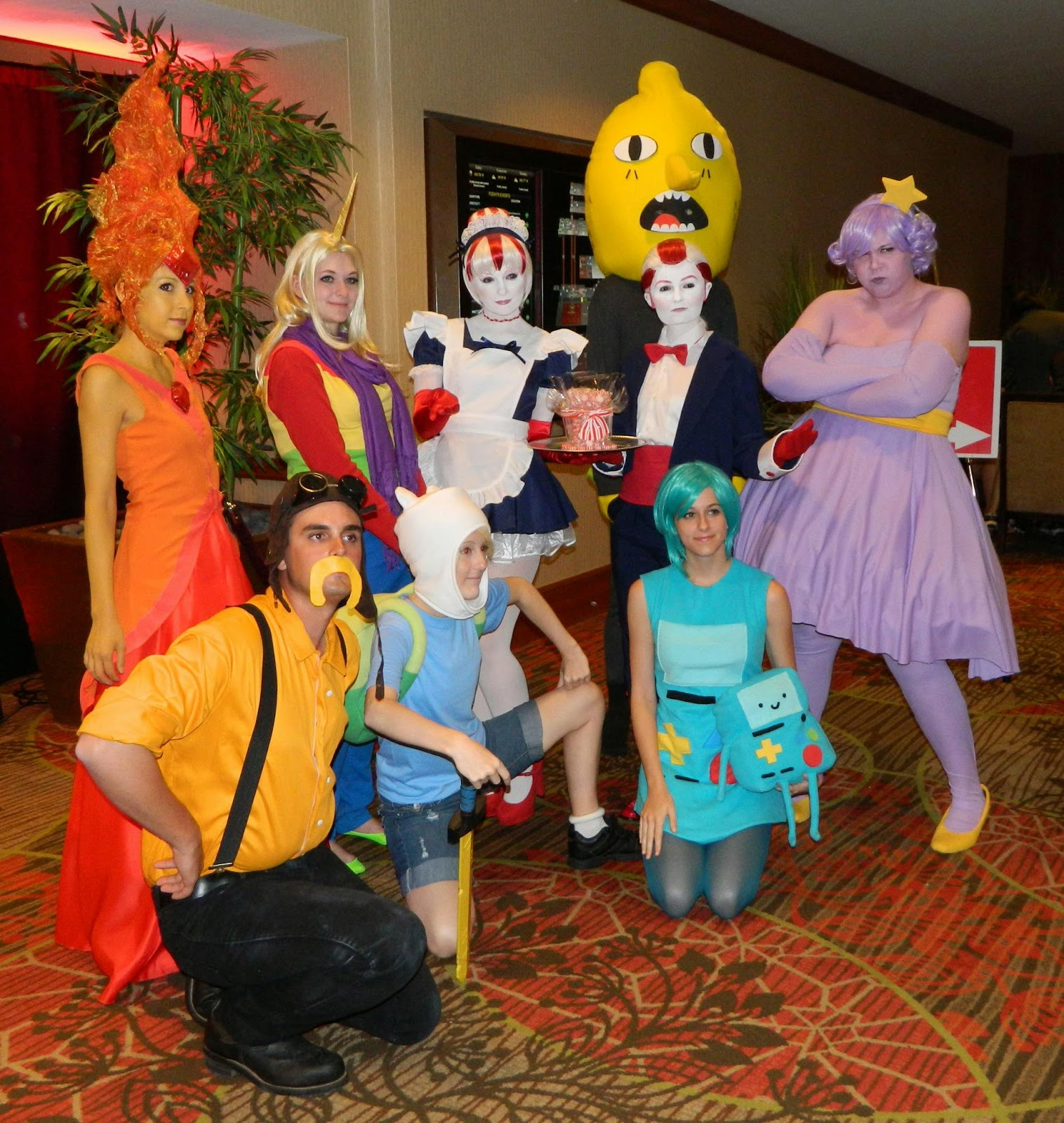 Adventure Time Group Costume