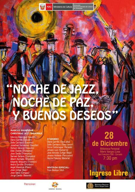 Noche de Jazz en Arequipa 2017