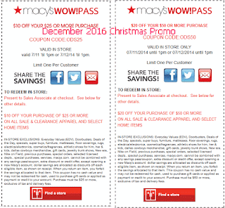 Macy's coupons december