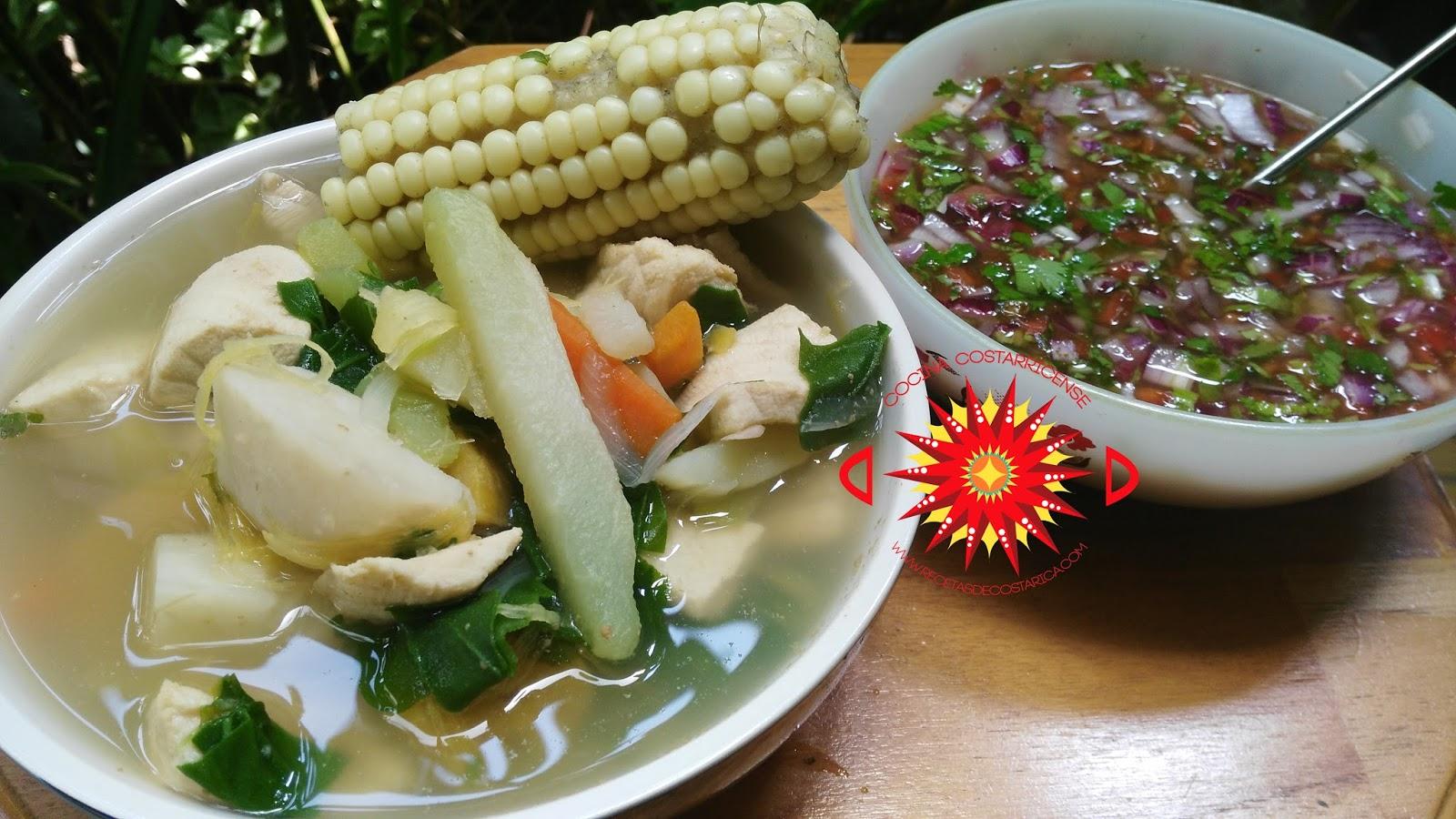 Cocina Costarricense: sopa de pescado
