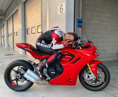 Chiara Lovato Ducati Supersport
