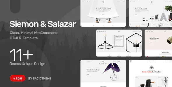 Best Clean Minimal eCommerce HTML5 Template