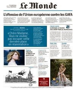 Le Monde Magazine 8 December 2020 | Le Monde News | Free PDF Download