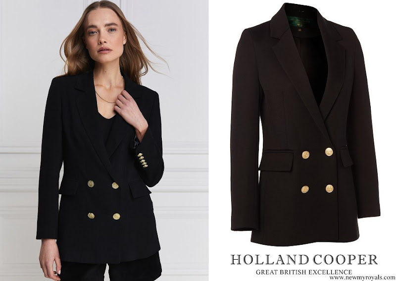 Kate Middleton wore Holland Cooper Double Breasted Blazer