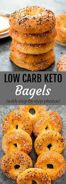 How To Make Low Carb Keto Bagels - Gluten Free