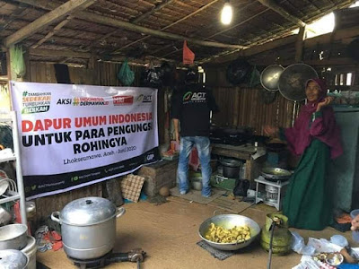 ACT Lampung Kumpulkan Bantuan Pangan Bantu Pengungsi Rohingya