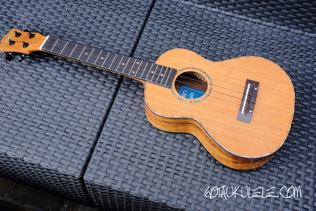 World of Ukes Eden Origin Tenor Ukulele