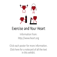 Picture of a stylized heart exercising