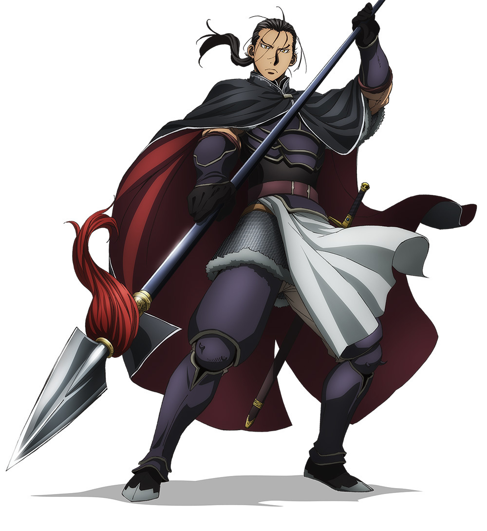 Anime Action Terbaik Arslan Senki Daryun