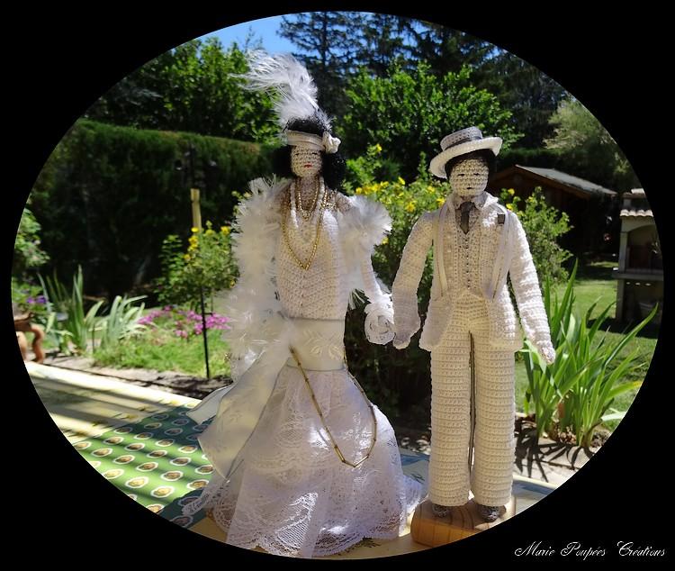 Couple de Mariés Charleston
