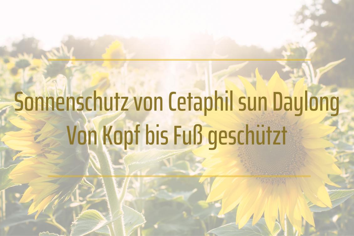 Sonnenschutz Cetaphil sun Daylong Fluid Lotion SPF 50