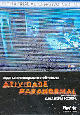 DVD Atividade Paranormal