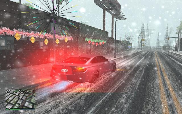 Snowfall City Mod 4.0 GTA San Andreas New Update