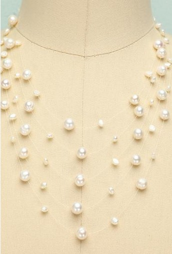 Layered Pearl Necklace- $19.99 USD