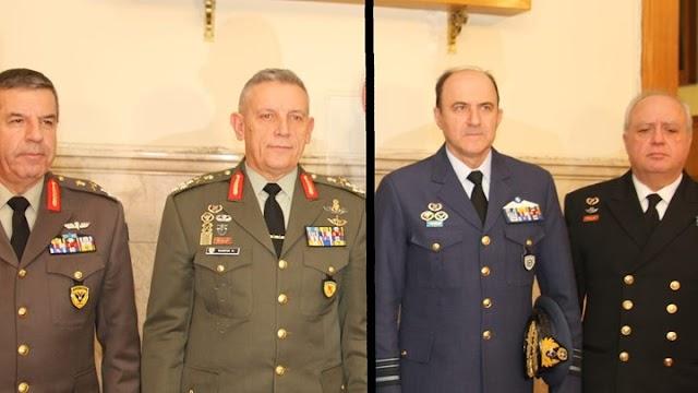 Κρίσεις στην ηγεσία των Ενόπλων Δυνάμεων - Οι τελευταίες πληροφορίες