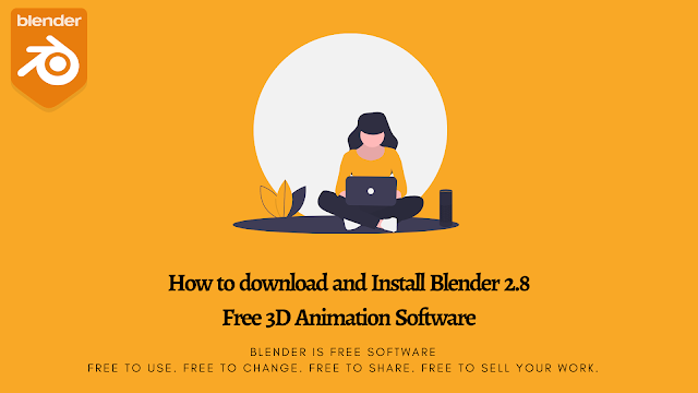 download and install Blender 2.8 Free