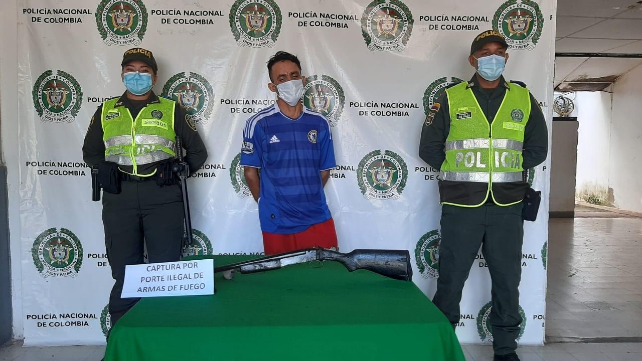 hoyennoticia.com, Capturan en Casacará a un venezolano armado ilegalmente