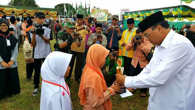 Kecamatan Bebesan Juara Umum MTQ Aceh Tengah ke 32