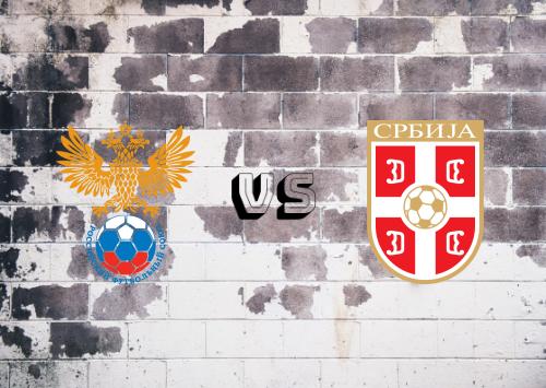 Rusia vs Serbia  Resumen