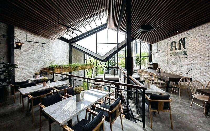 Desain Meja dan Kursi Cafe Minimalis (alther.com.co)